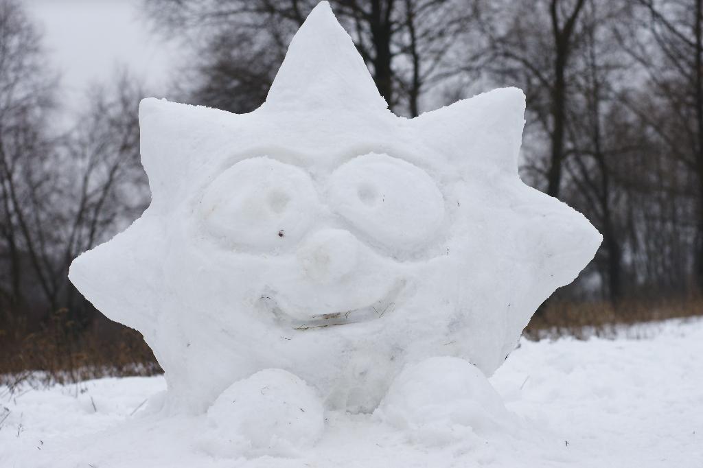 выбор фото фигур из снега своими руками если это портрет