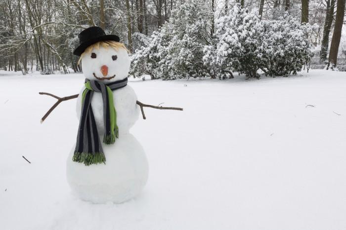 Как одеть снеговика