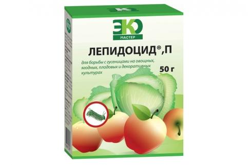 Лепидоцид для обработки яблонь весной