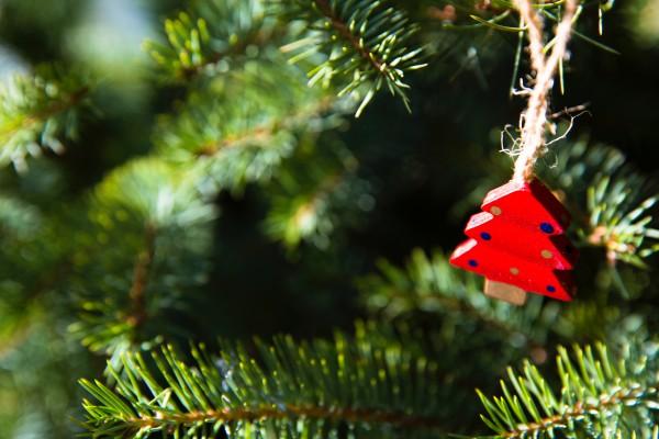 Деревянные украшения для новогодней елки 2018