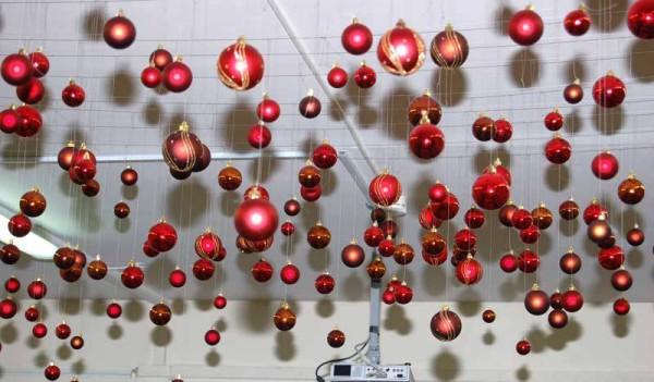 Фото украшение потолка к Новому году