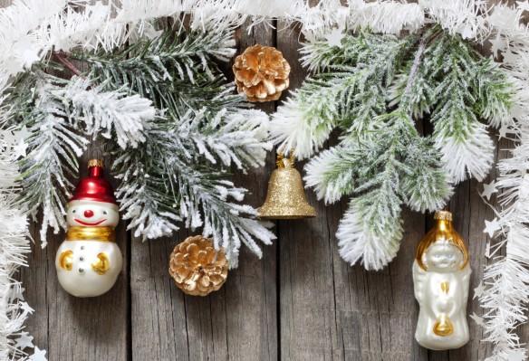 Идеи красивого украшения дома на Новый год
