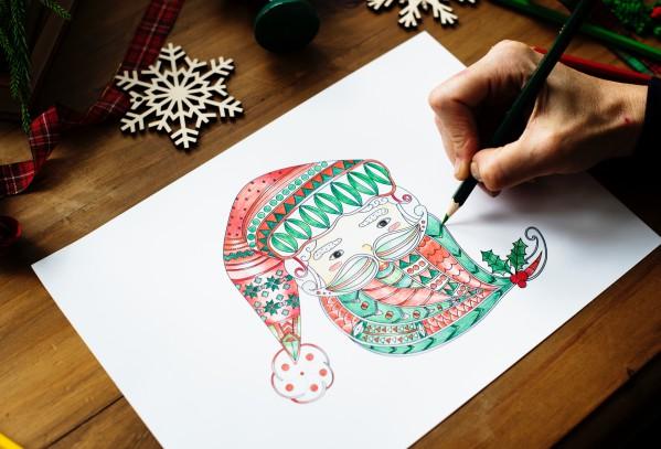 Картинки для украшения комнаты к Новому году