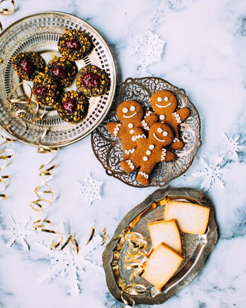 Новогодние композиции с едой для украшения комнаты