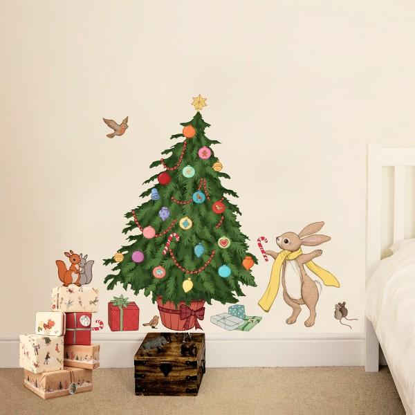Новогодние украшения для детской комнаты