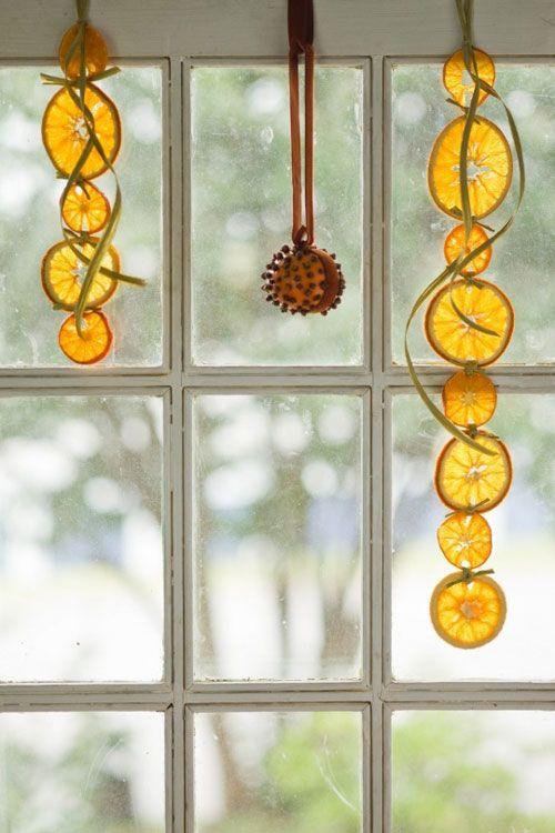 Оригинальные идеи украшения окна
