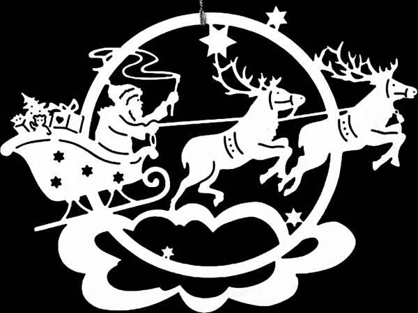 Шаблоны и трафареты для новогодней росписи стекла