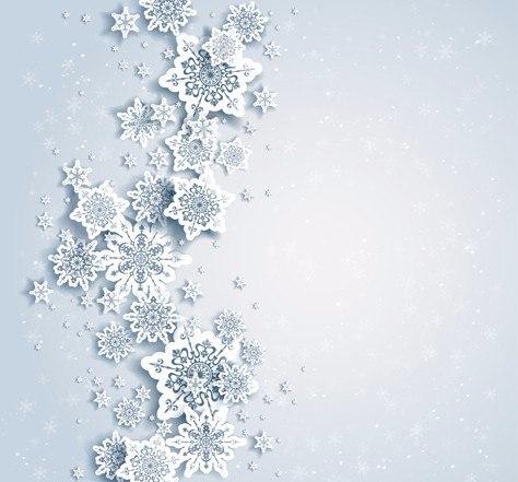 Снежинки на потолке