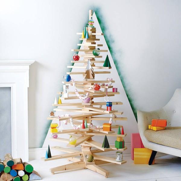Стиль модерн для новогодней елки