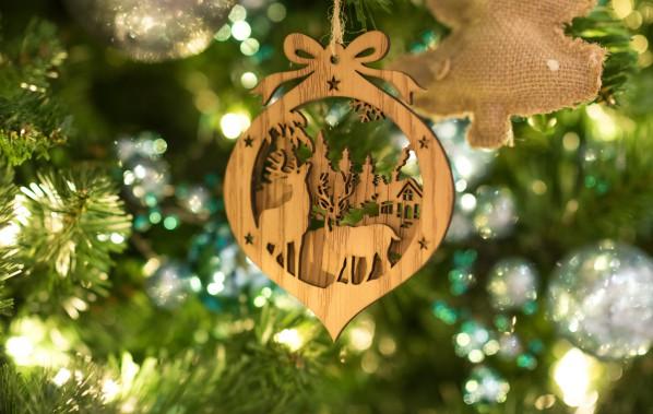 Украшение новогодней елки 2018