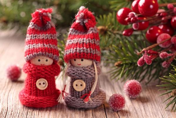 Забавные и милые поделки для украшения дома на Новый год